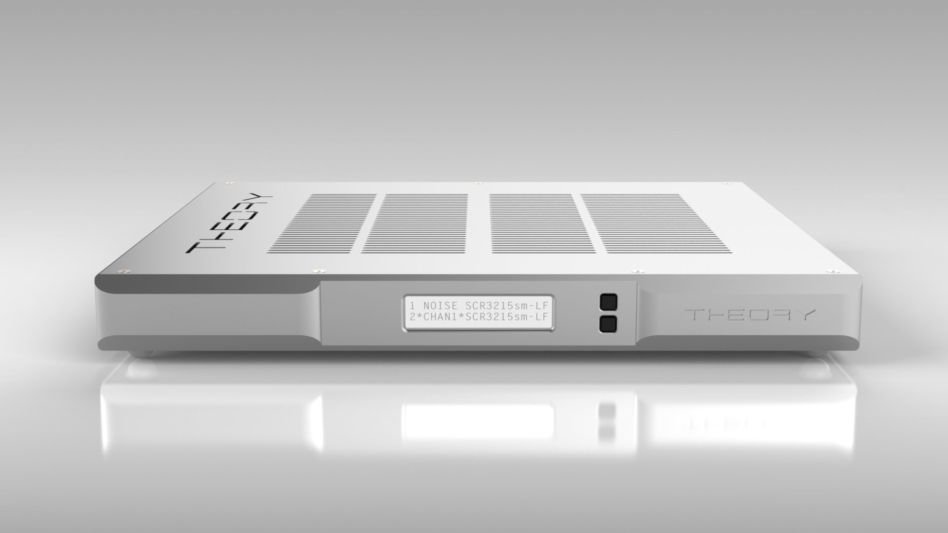 ALC-1809B 9-CHANNEL AMPLIFIED LOUDSPEAKER CONTROLLER - FRONT VIEW