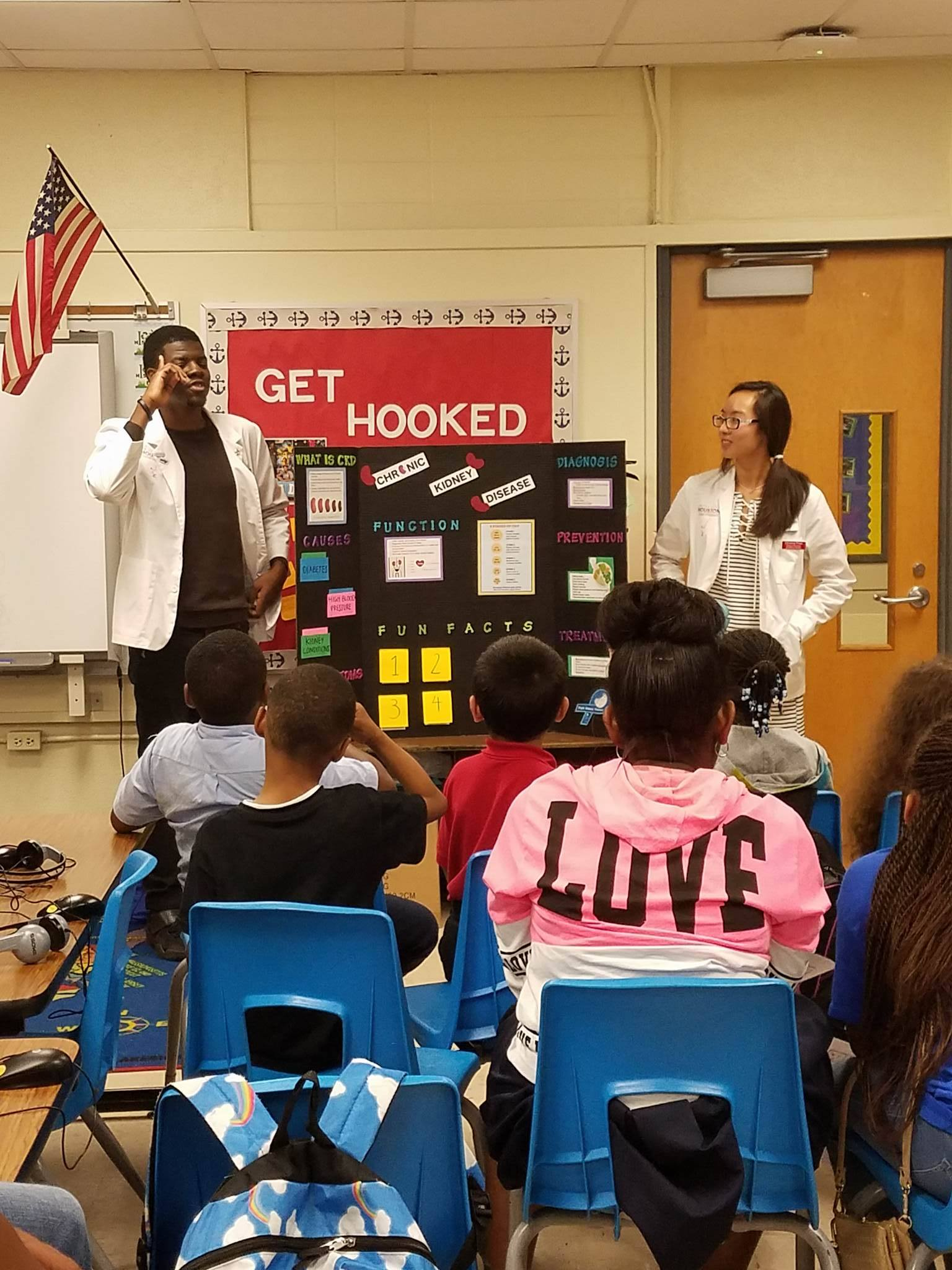 hafeez ayomide adewusi and Christine pham discuss CKD with kids