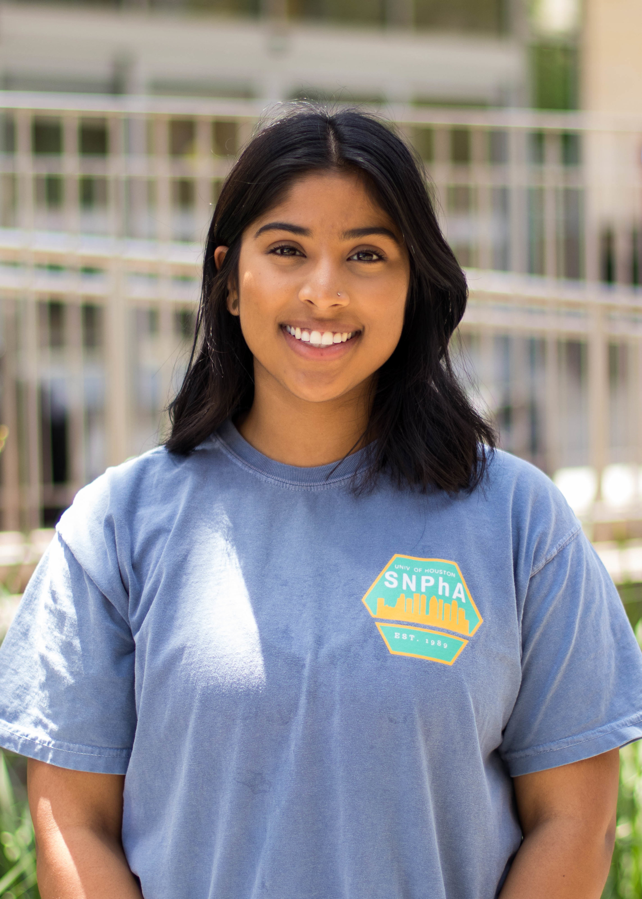 Why did you choose SNPhA?    I chose SNPhA because I love their mission statement. I have seen the impact that SNPhA has on the community and I wanted to be apart of that.