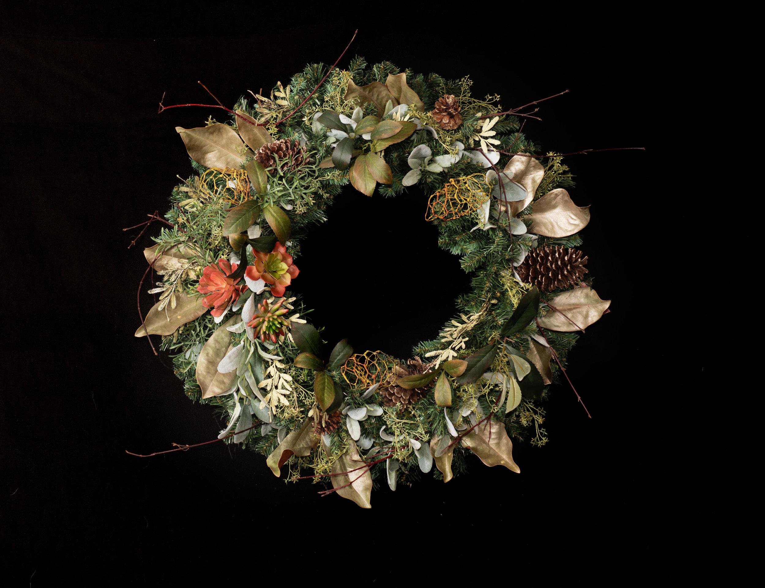 Bespoke Wreaths - Browse this season's offerings below…