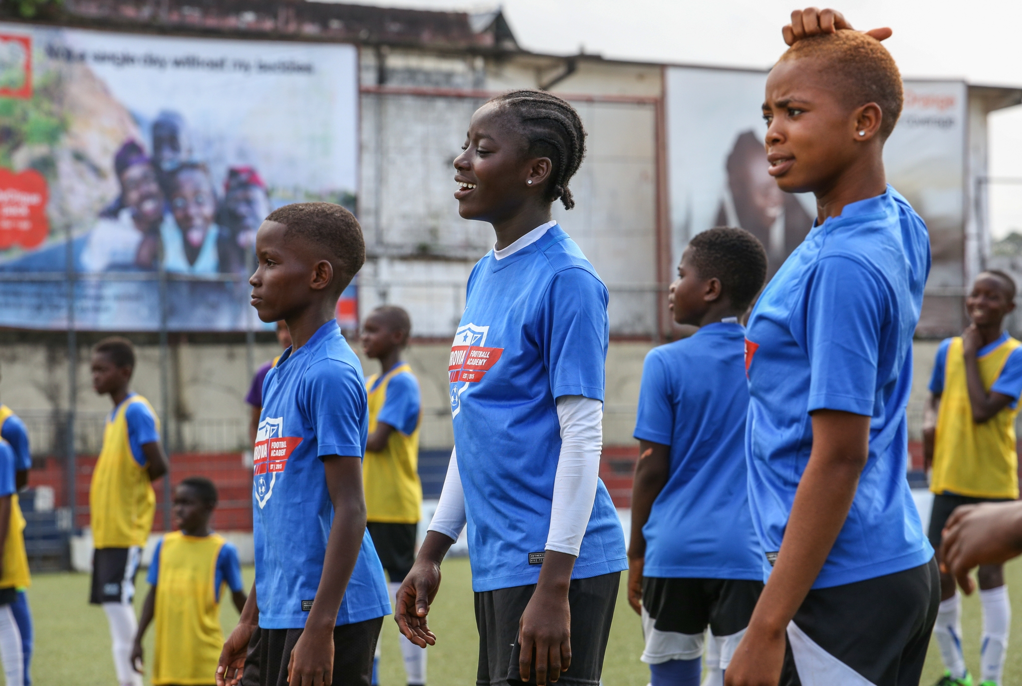 We target 54 academies by 2050 -one for every country on the continent. -