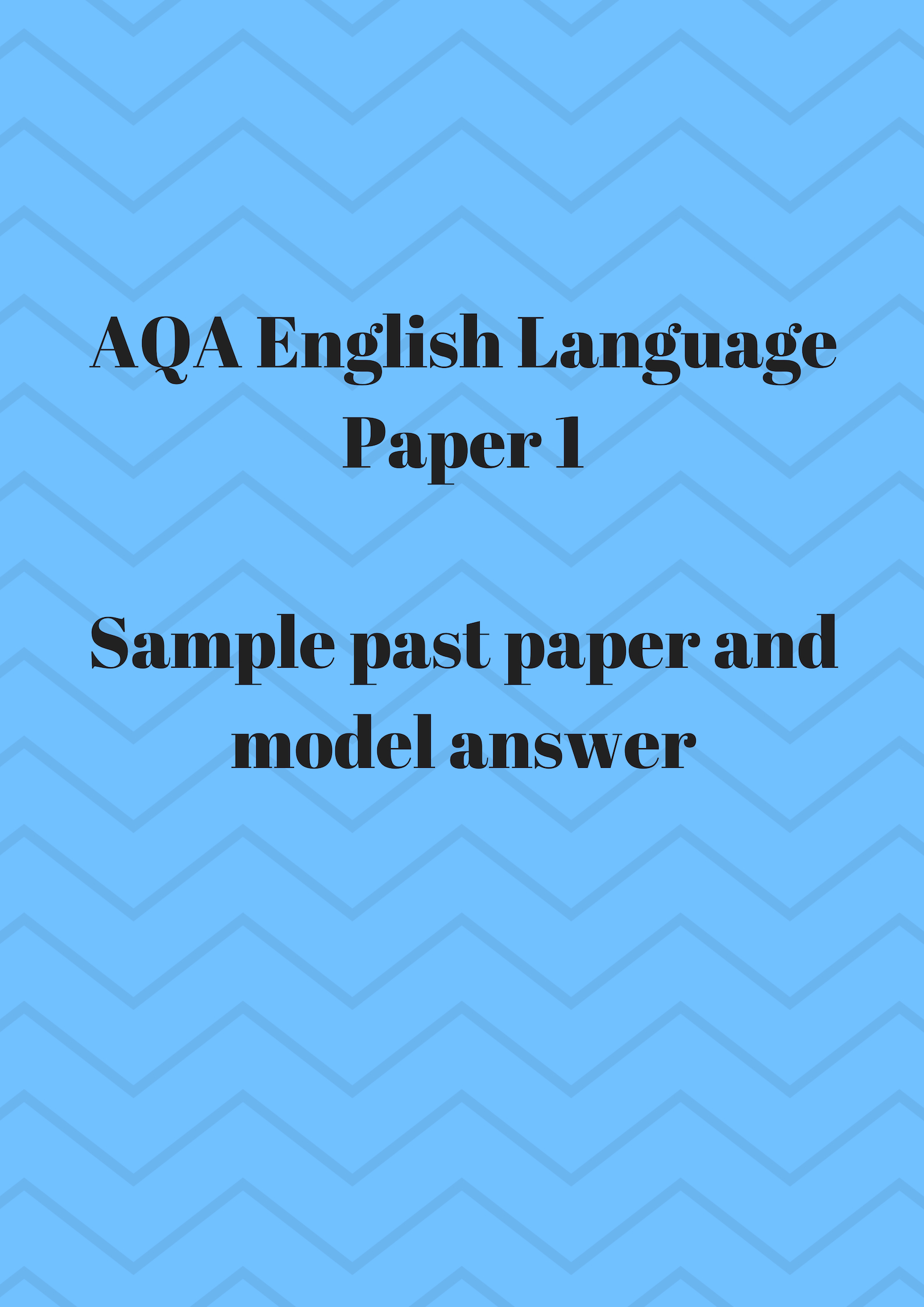 AQA English Language Paper 1Sample past paper and model answer.jpg