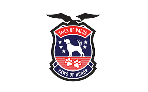 TAILS OF VALOR  Dedicated to providing rehabilitation through non-medicinal therapies with service canines to Veterans suffering from Post Traumatic Stress (PTS), Traumatic Brain Injury (TBI), and physical disabilities.