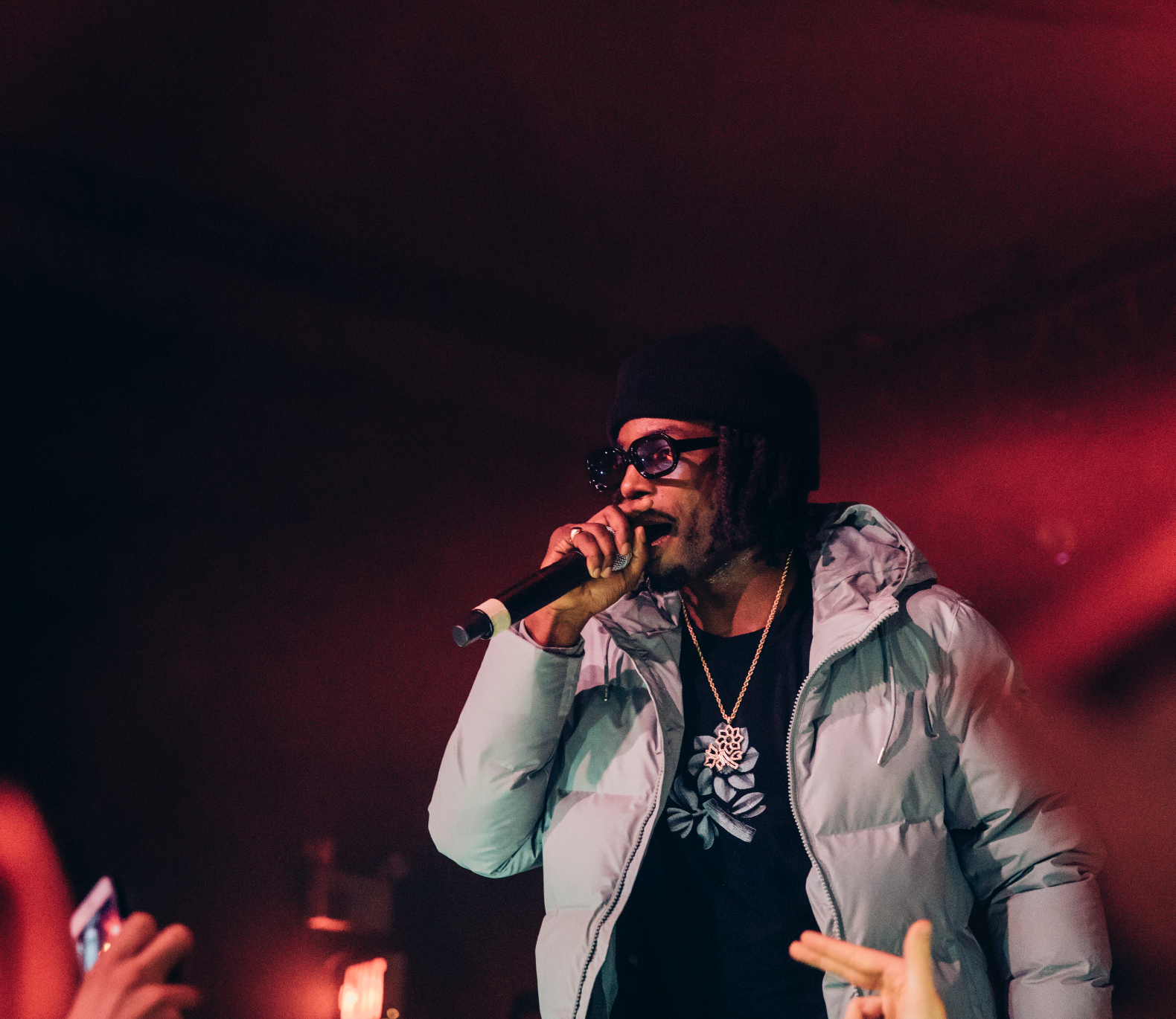 Jazz Cartier LIVE In Ottawa   Photo: @thesilkmade