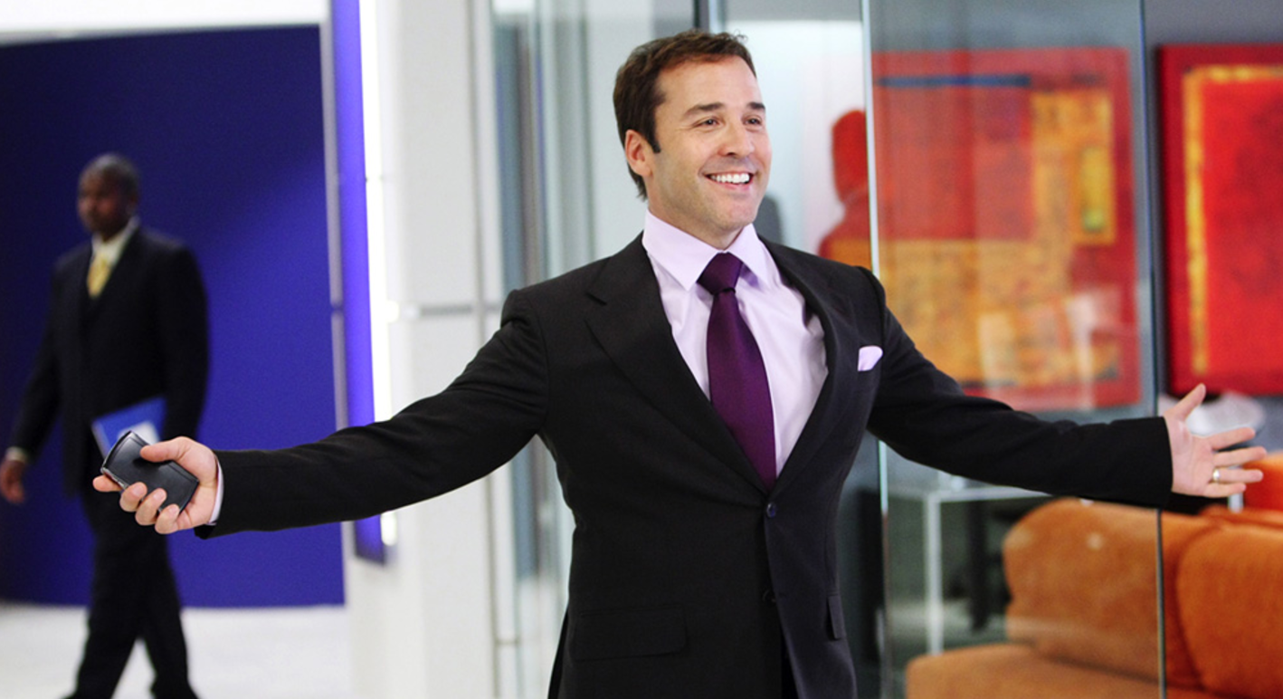 Fictional but inspirational Agent, Ari Gold from HBO's Entourage