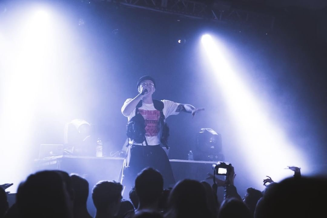 Ottawa rapper Phantom Caine performing for our show Jazz Cartier LIVE In Ottawa