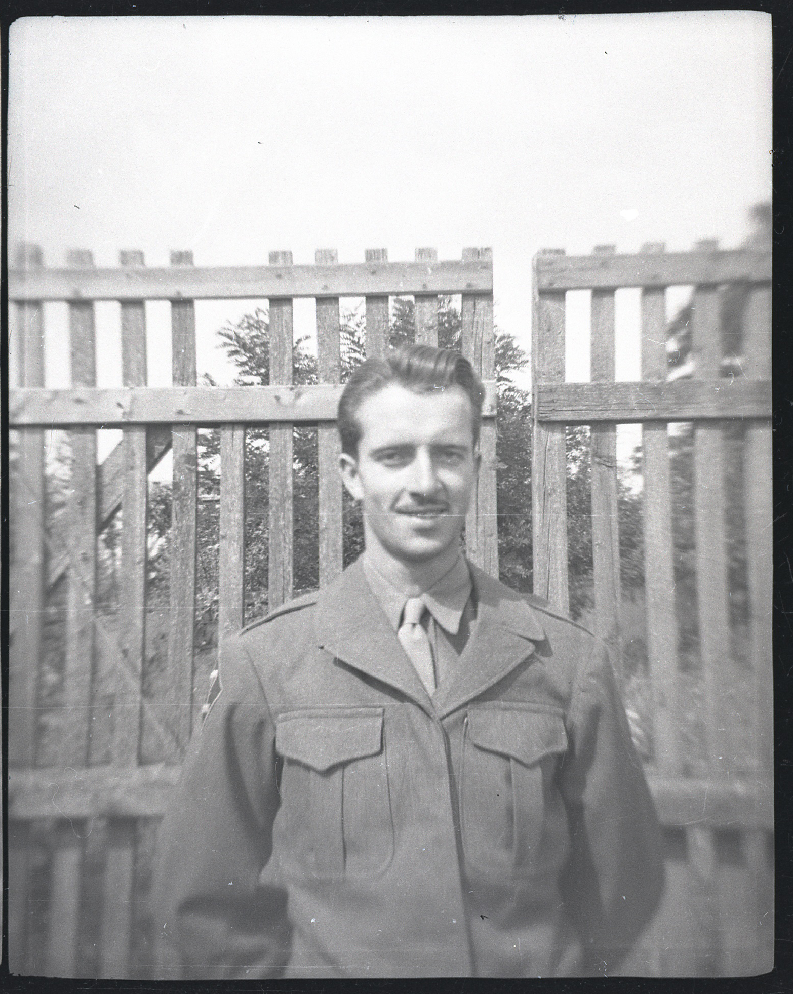 Charlie Green, Czechoslovakia 1945