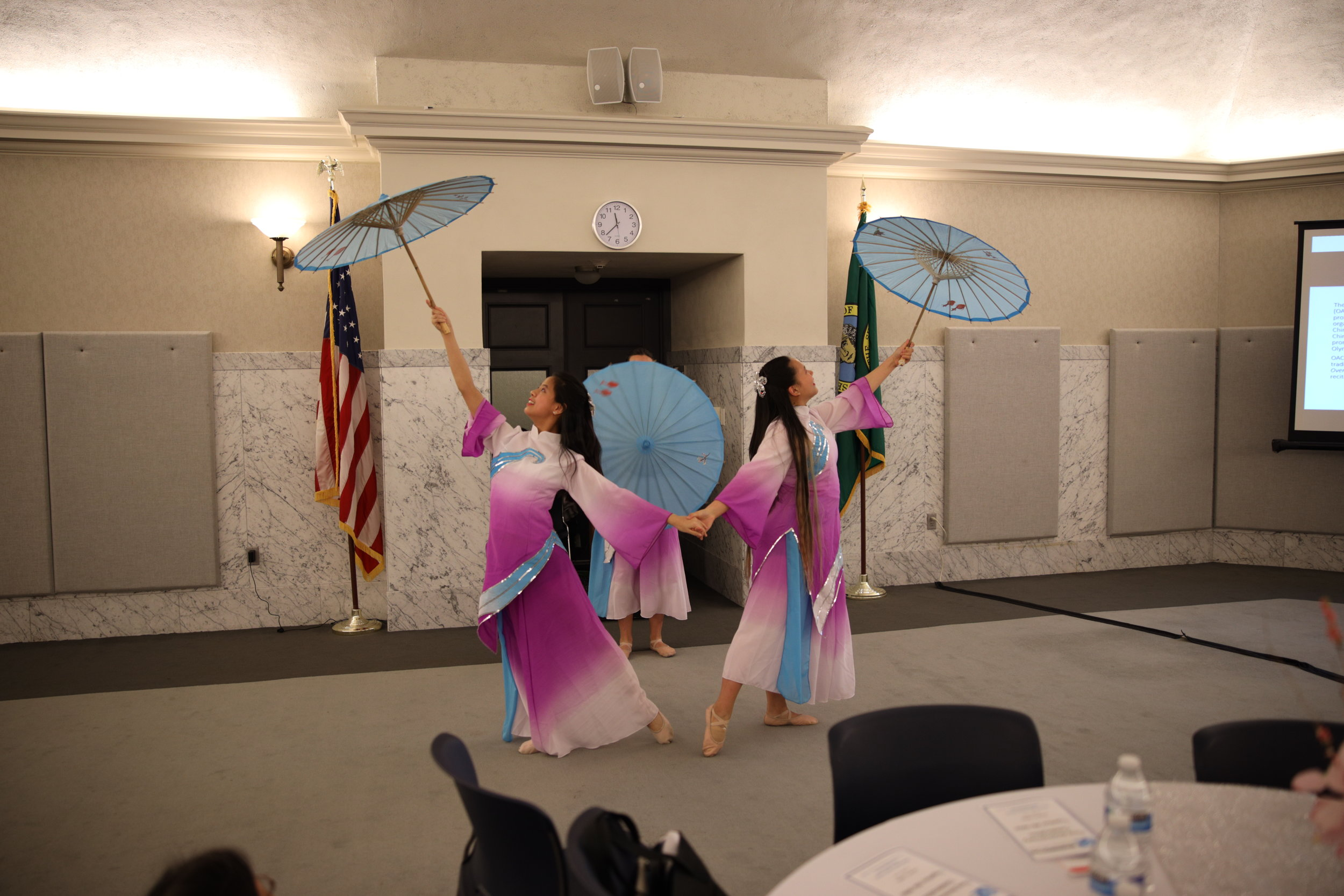 WIN 1st Anniversary 2019 OACA performers umbrellas 1.JPG