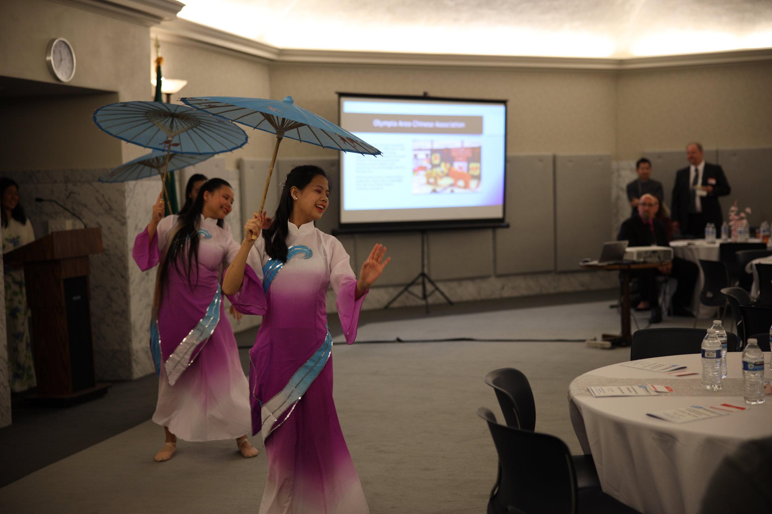 WIN 1st Anniversary 2019 OACA performers umbrellas 2.JPG