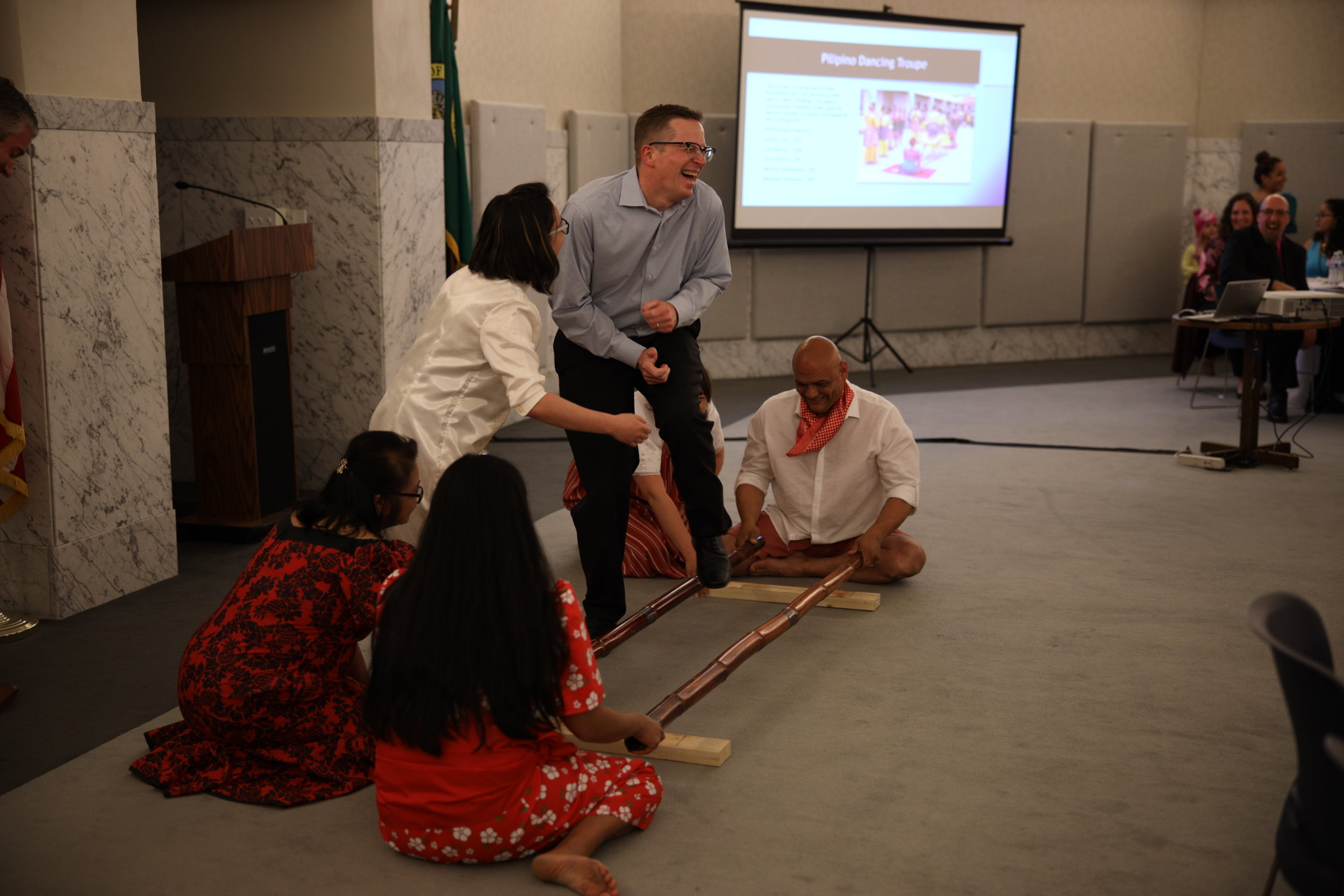 WIN 1st Anniversary Celebration Filipinio Tinikling with Franklin.JPG