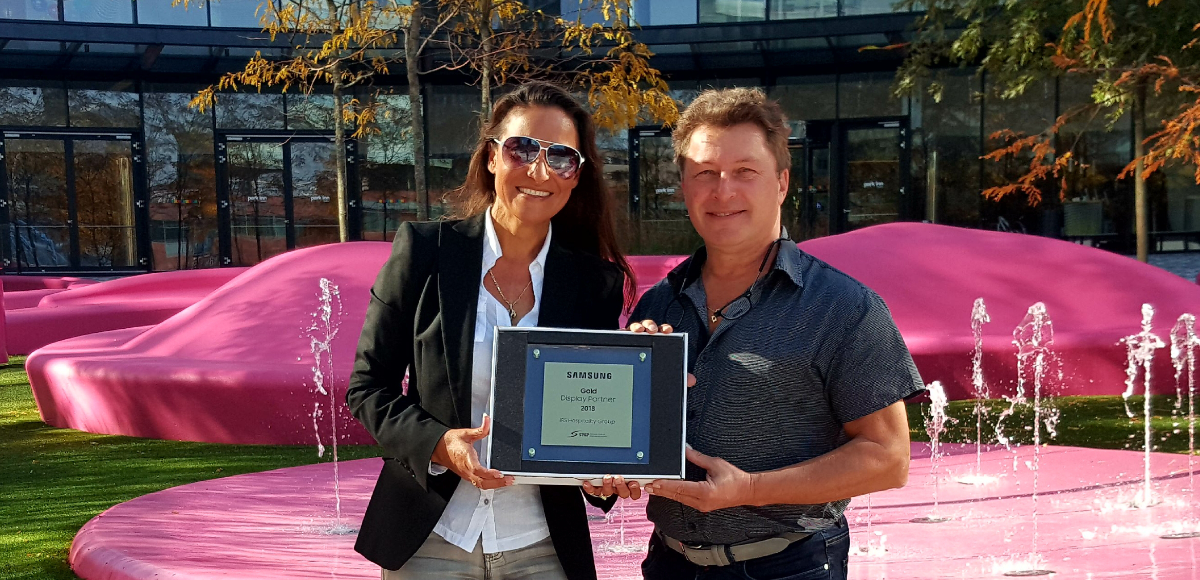 Samsung Award for IRS Hospitality Group