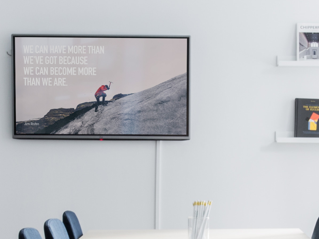 Digital Signage -