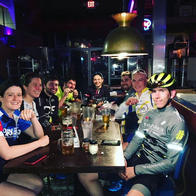 It has been an awesome first two Wednesday #outspokinworlds with the weather cooperating but what really makes these rides is the #community. No matter your riding level or fitness we can all agree the post ride stories and friendships are what keep us coming back. We can't wait to see y'all out on the road this year. #celebrate