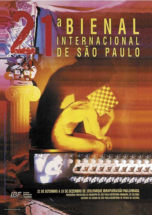 21. Bienal - Internacional de São Paulo, 1991, Exh. Catalog Fundação Bienal de SP