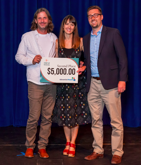 Second Place of $5,000 from Adventist Health - Brian Newell & Jennifer AndersonAndeClog footwearFort Bragg