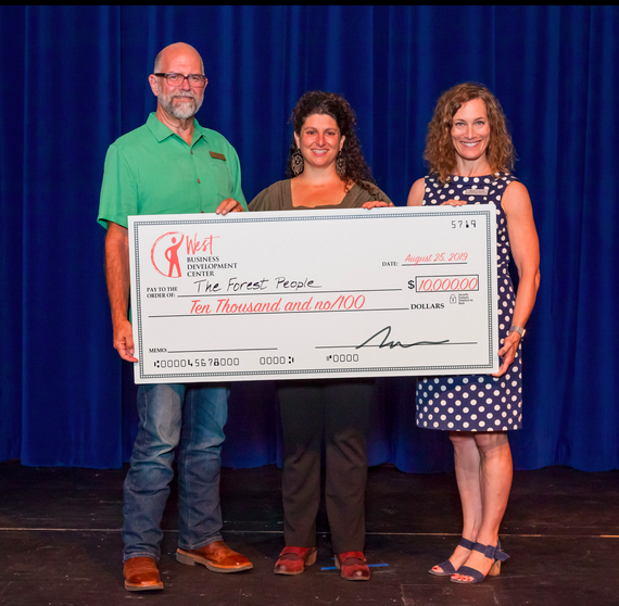 Grand Prize of $10,000 from the John and Sandra Mayfield Economic Development Fund at The Community Foundation of Mendocino County - Lama Nasser-GammettThe Forest PeopleOrganic mushroom jerkyBoonville