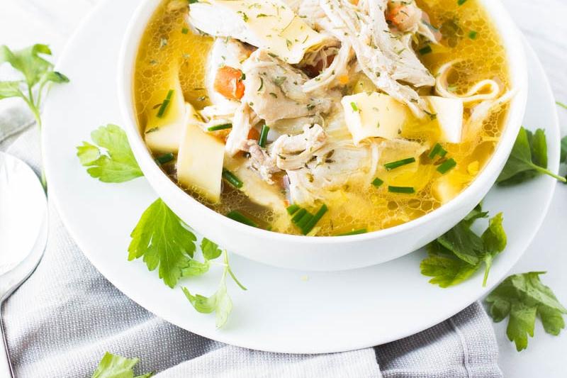 Instant Pot Chicken Soup - Instant Pot Meal