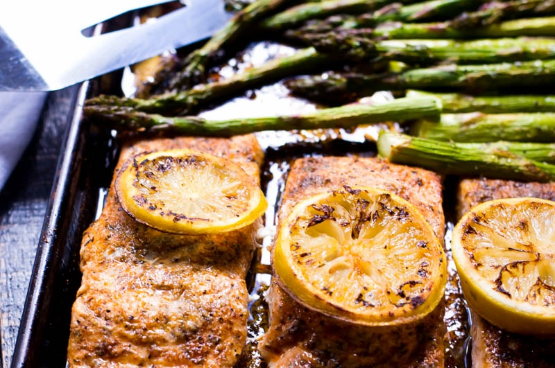 Spicy Honey Garlic Salmon in Foil - 30 Minute - One Pan Meal