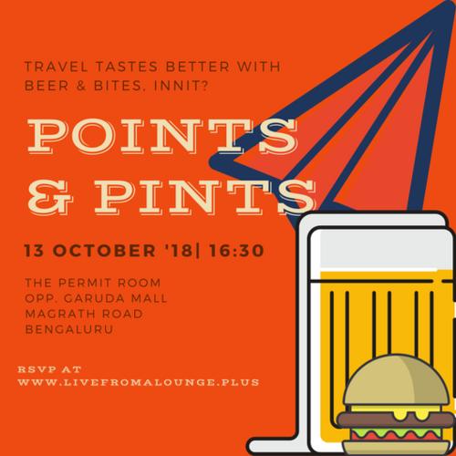 BENGALURU, OCTOBER 13, 2018    Venue:  The Permit Room, Ashok Nagar