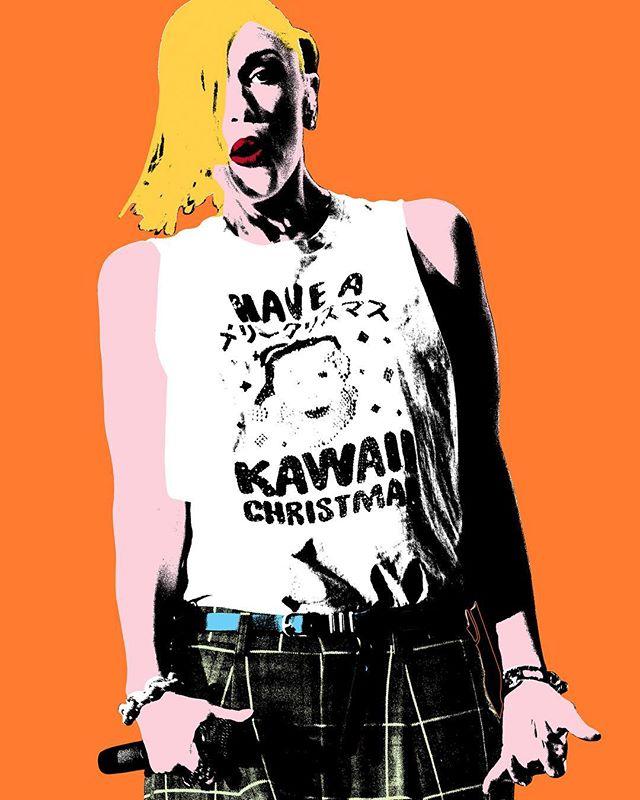 Gwen Stefani for your home!  11x17 watercolor print - $95! #nodoubt #gwenstefani #art #popart #midcenturymodern #midcentury #midcenturystyle #midcenturyart #music #musicphotography #musicphotographer #katmonkphoto #katmonkphotography