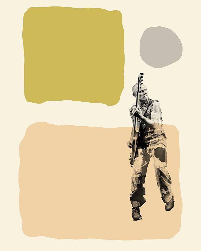 Flea as Mid Century Art!  #popart #midcentury #art #interiordesigners #flea #redhotchilipeppers #midcenturymodern #midcenturydecor #midcenturystyle #musicphotographer #prophotographer #artist