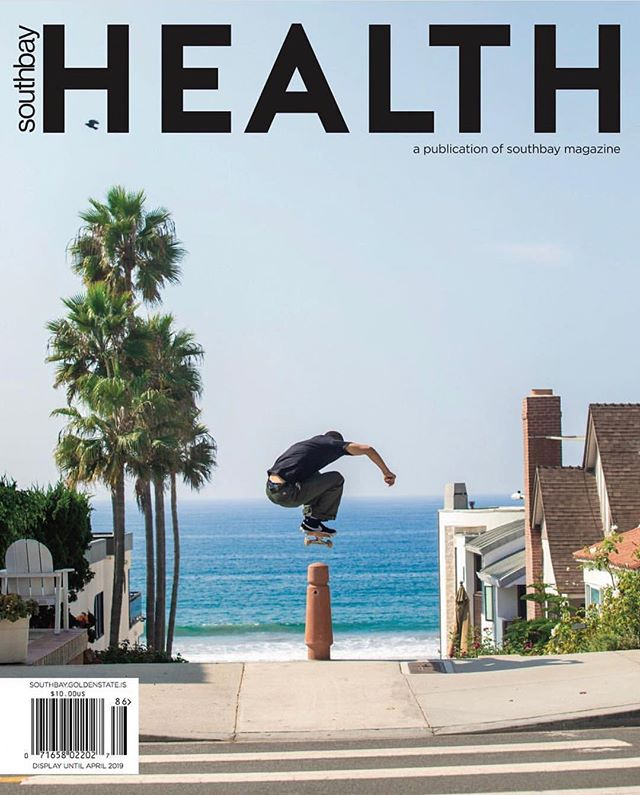 Got the COVER with Mason Silva!  Photographed and written by Kat Monk!  @oursouthbay #masonsilva #onassignment #Element #proskateboarder #southbaymagazine #prophotographer #author #writer #katmonkphoto #katmonkphotography