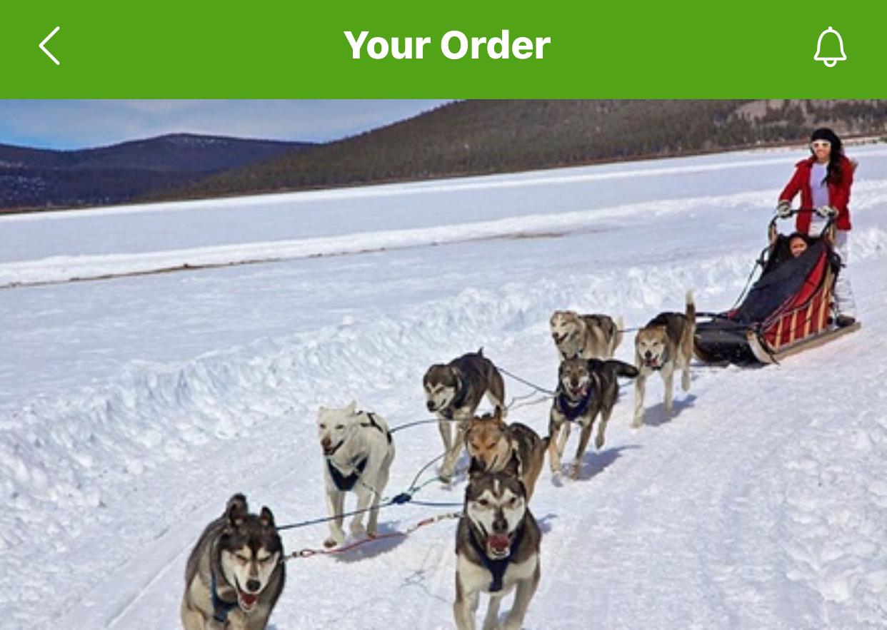 My order