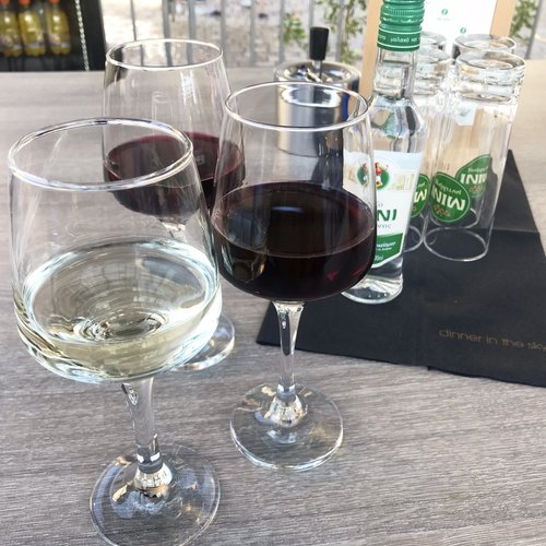 Wine as we wwaited