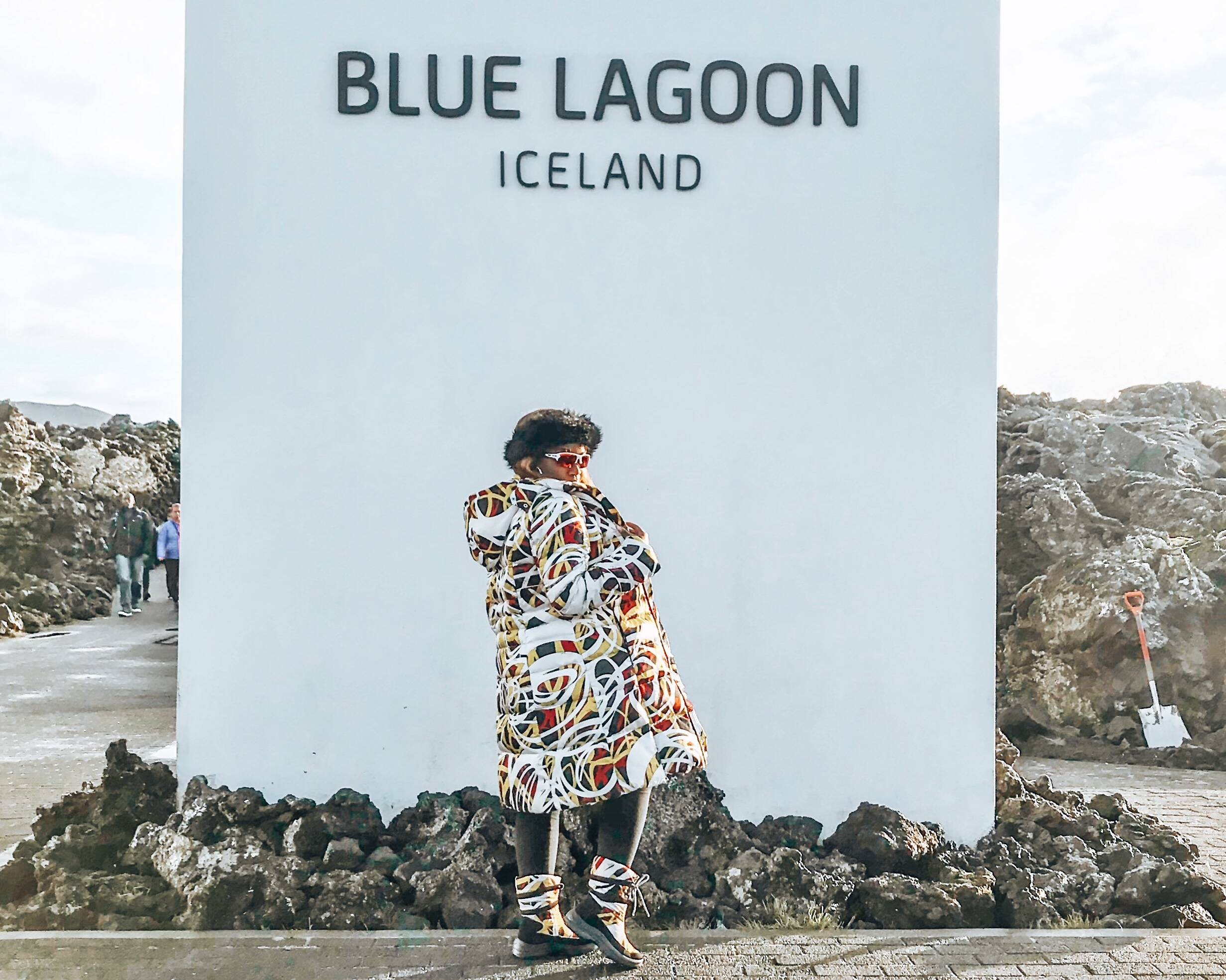 Blue Lagoon in Iceland, the safest country in the world