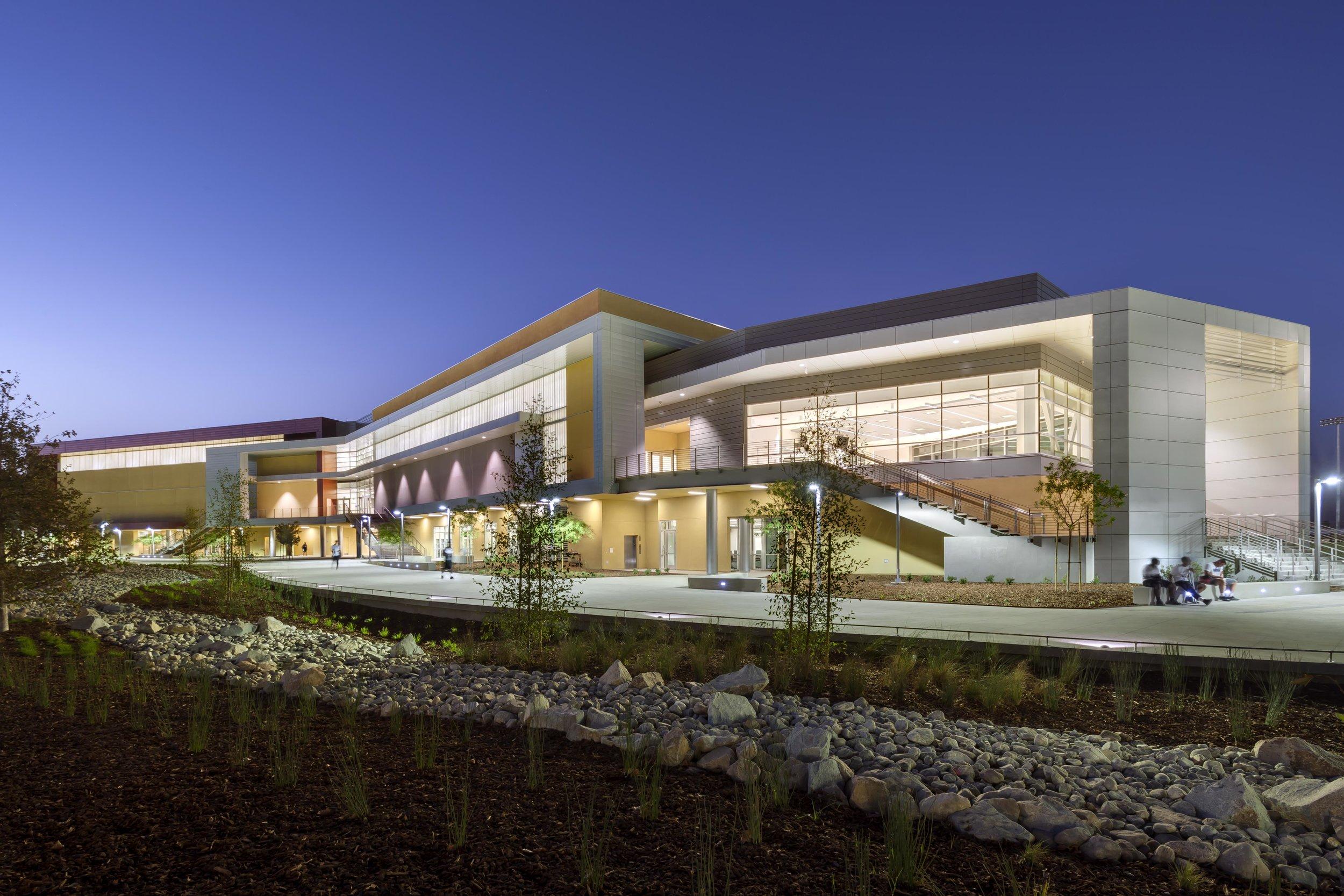 17X22 San Bernardino College Gym, San Bernardino California.jpg