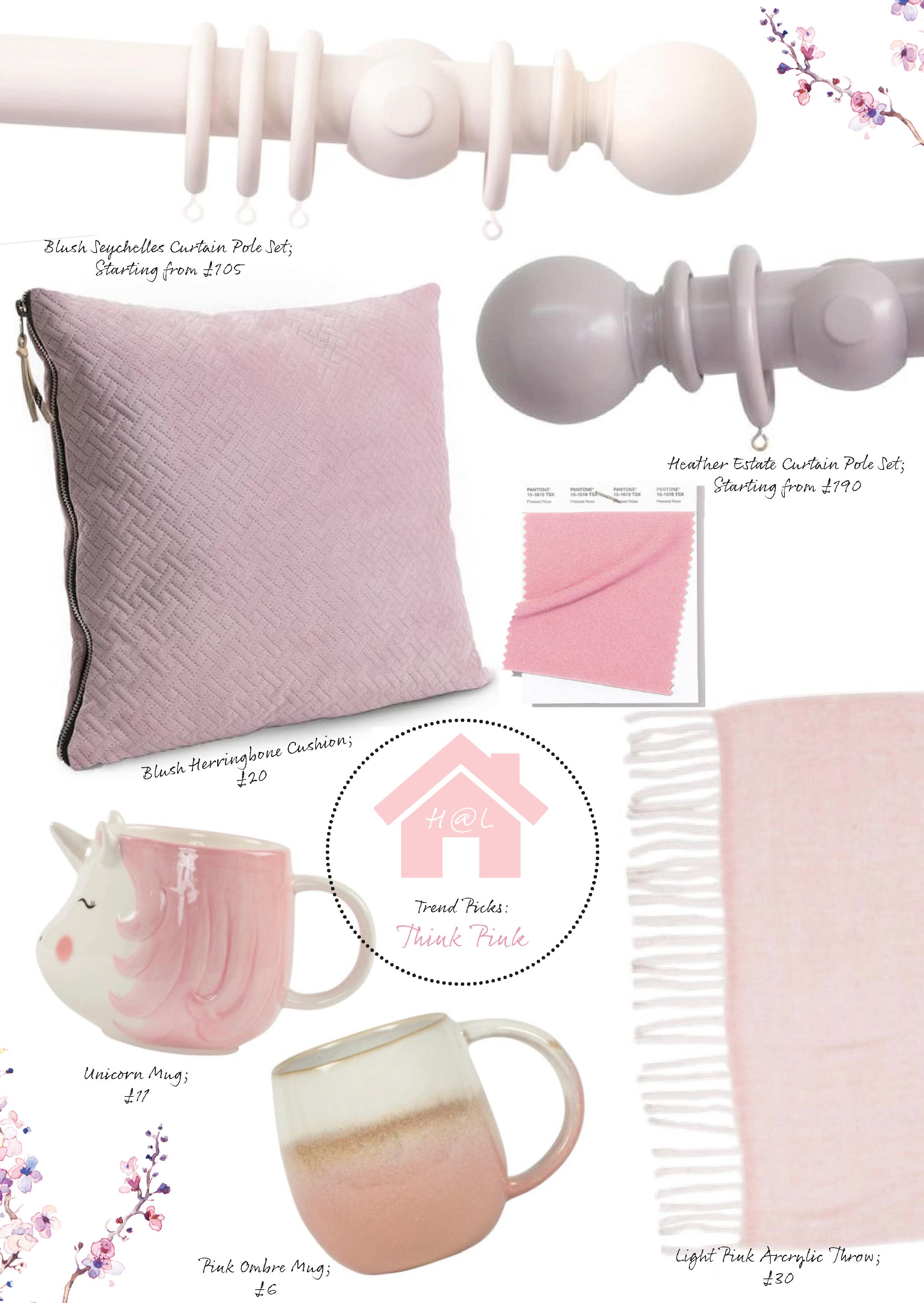 Blush Pink Interior Trends