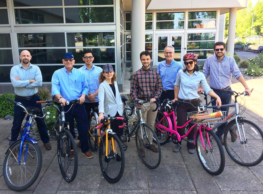 Today's the last day of the statewide Bike More Challenge. Oregon Department of Energy staff have enjoyed taking part.Read more on our blog. -