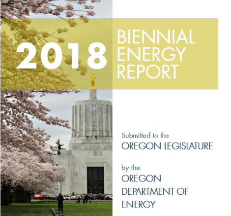 Our new Biennial Energy Report is coming soon. We'll be pulling out key portions for a new section of our website. Watch for details next month!