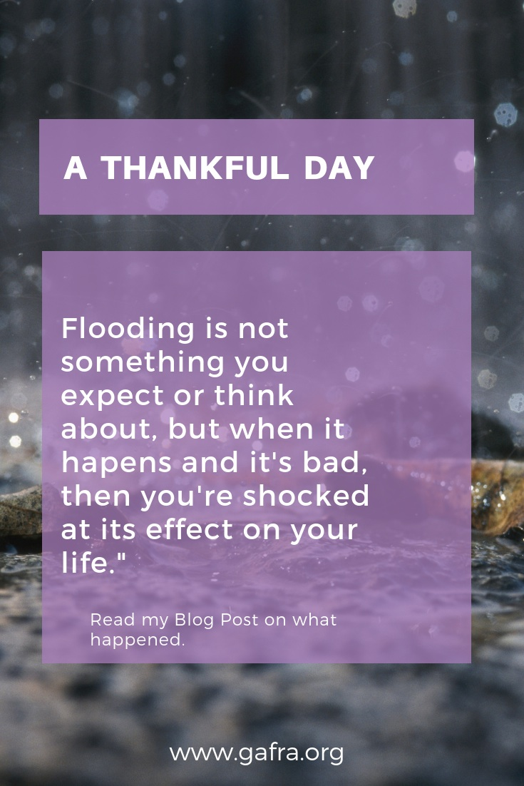 Rain, Rain and More Rain. Flooding can be so devastating. Find out what happened.