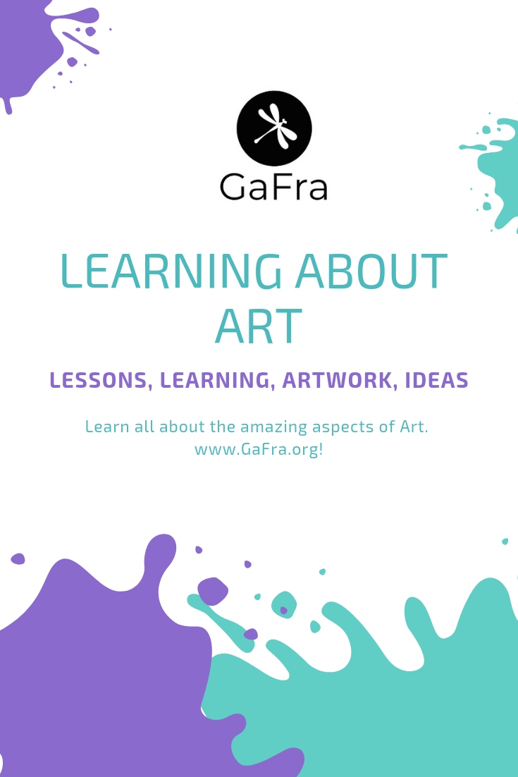 Learn About Art. Different recommended lessons available and the different characteristics of Art at gafra.org