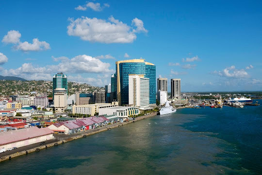 Port of Spain, the Capital of Trinidad & Tobago