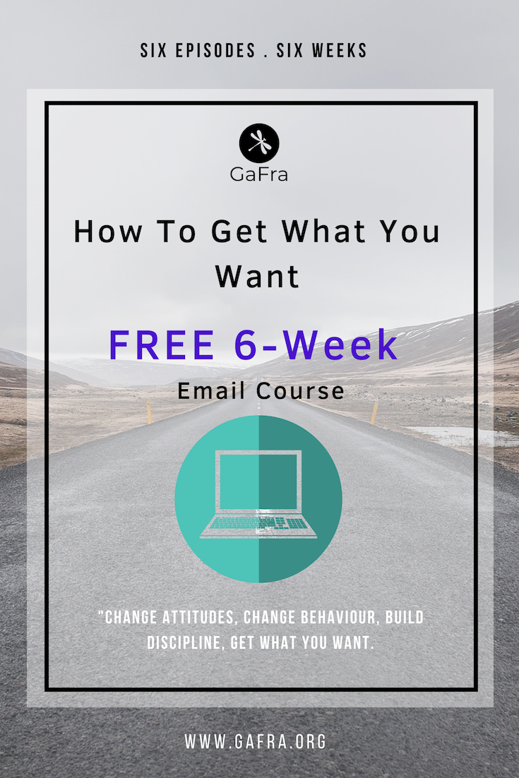 E-COURSE - HOW TO GET WHAT YOU WANT.   ENROLL HERE