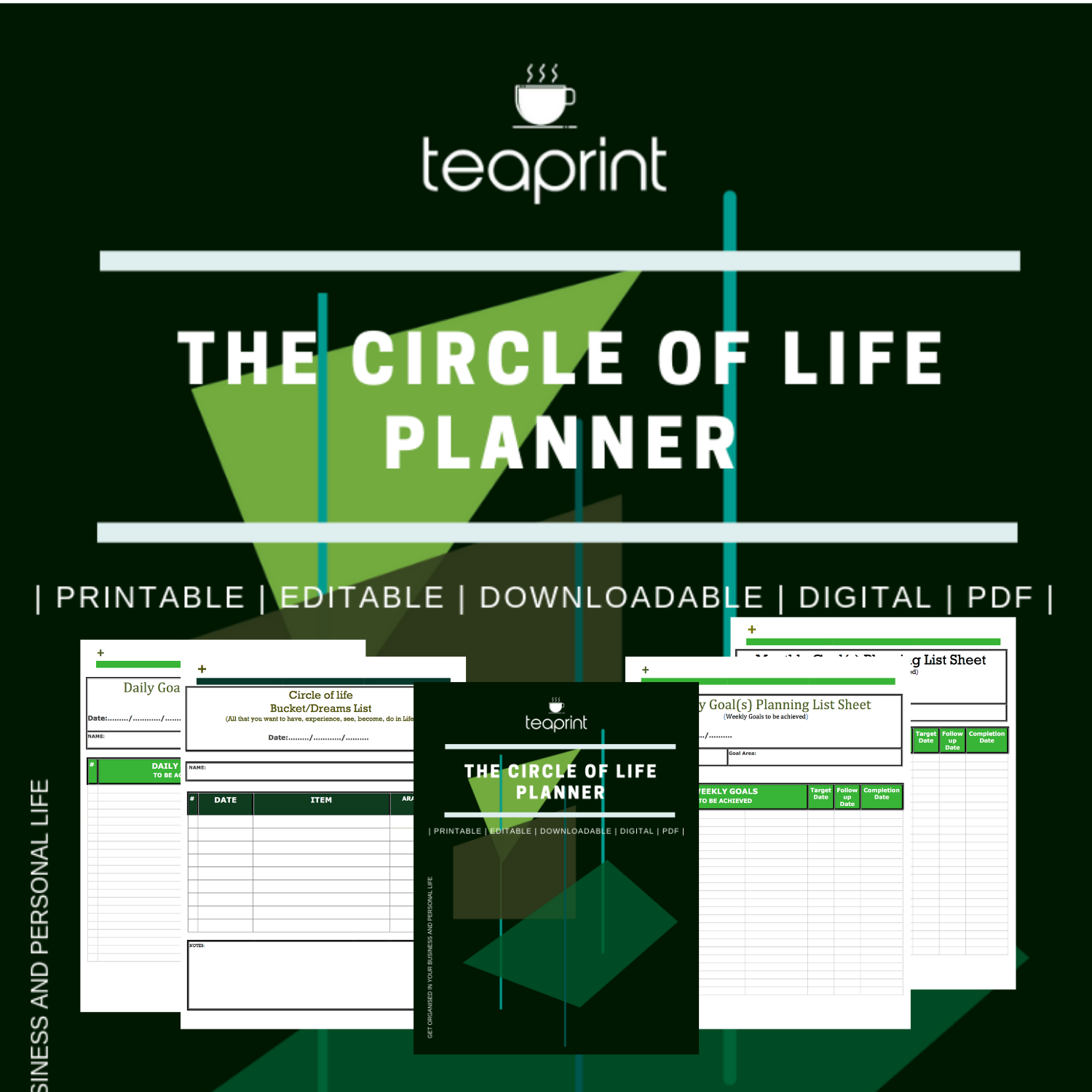 GET YOUR CIRCLE OF LIFE PLANNER