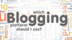 Chose your platform, then get started on your blog