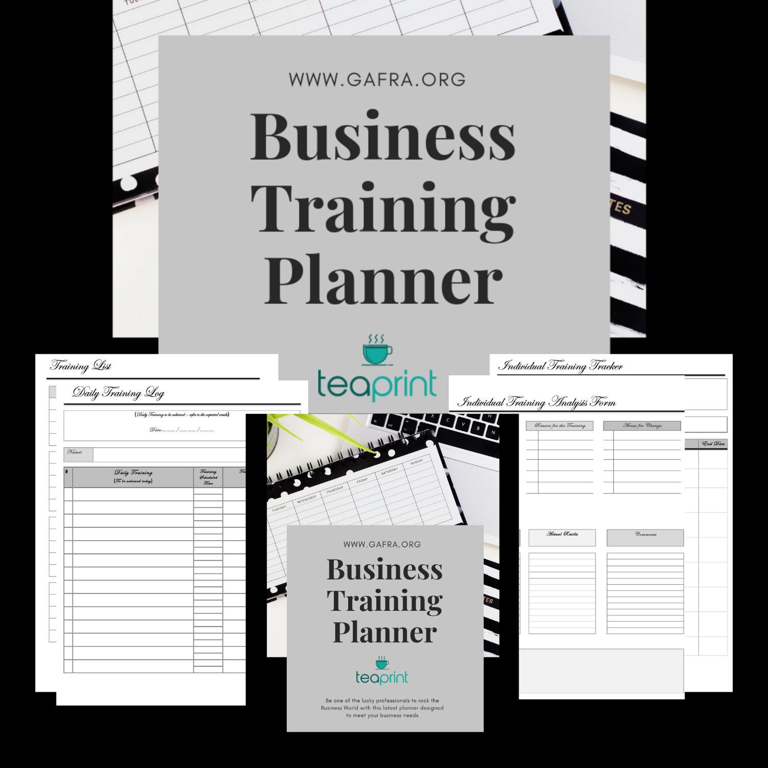 Business Training Printable Planner