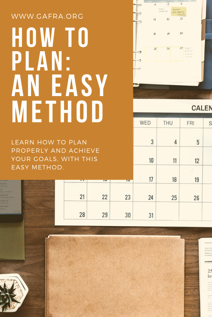 Having problems planning? Use this very easy method, simply visit my blog and get your answer.