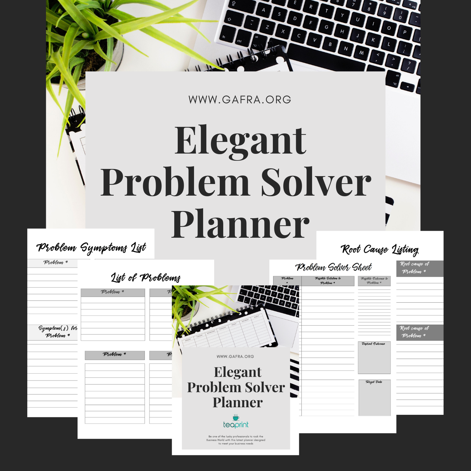Get Your Printable Problem Solving Planner