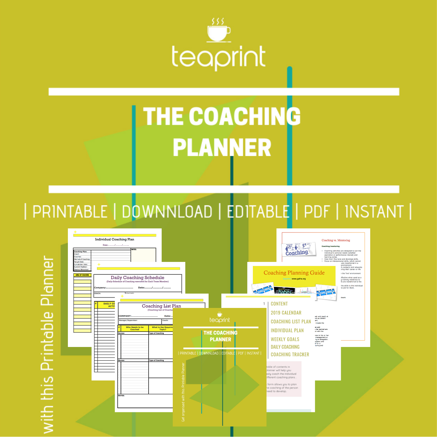 get printable coaching planner pages at gafra.org