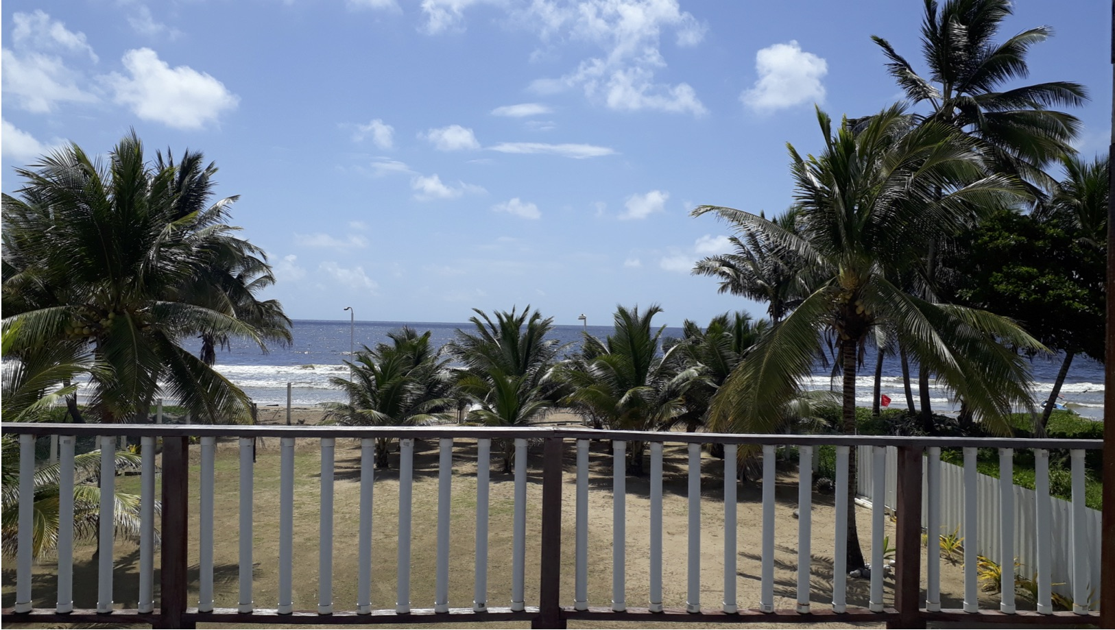 The View from a Beach House in Mayaro