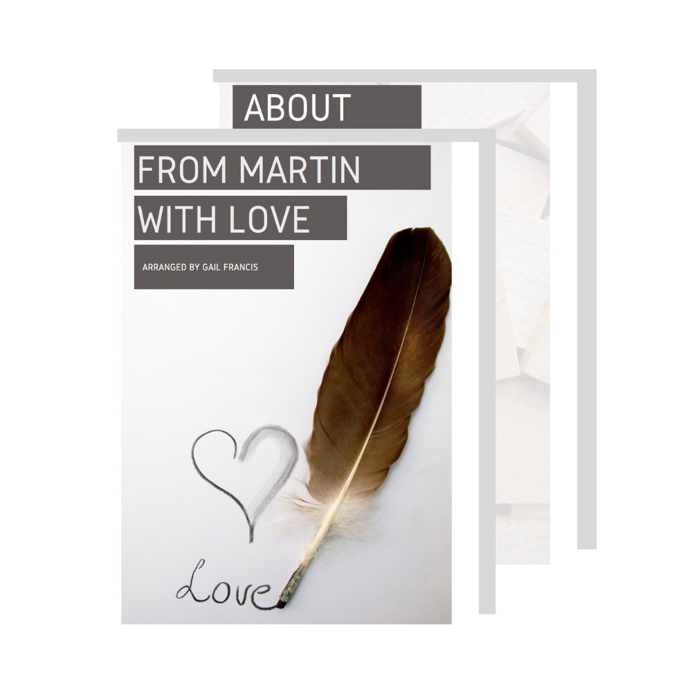 from martin with love by martin francis. a compilation of poems from husband to his wife when they were friends.   buy a copy here for $8.99 kindle