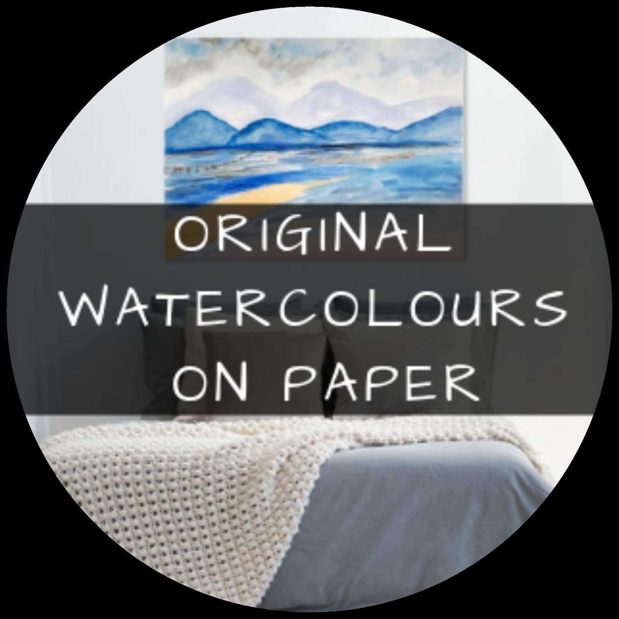 Original Watercolours on Paper