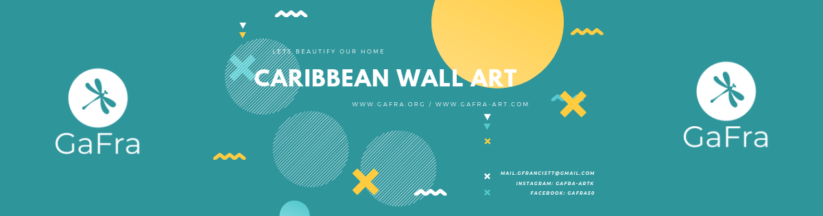 Caribbean Wall Art available at www.gafra.org