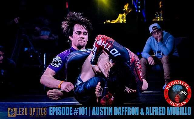 From @becominghumanpodcast -  Episode #101 of the Becoming Human Podcast features @duck_jitsu and @pooh.jitsu . These guys are extremely competitive and driven to push themselves as much as possible in the #sport of #jiujitsu . In this episode we discuss Austin's journey to competing in Jiu-Jitsu across America. These guys standout amongst athletes - in this episode we dive into what sets them apart from their competition.  To listen: becominghumanpodcast.com and wherever podcasts are found - #regrann