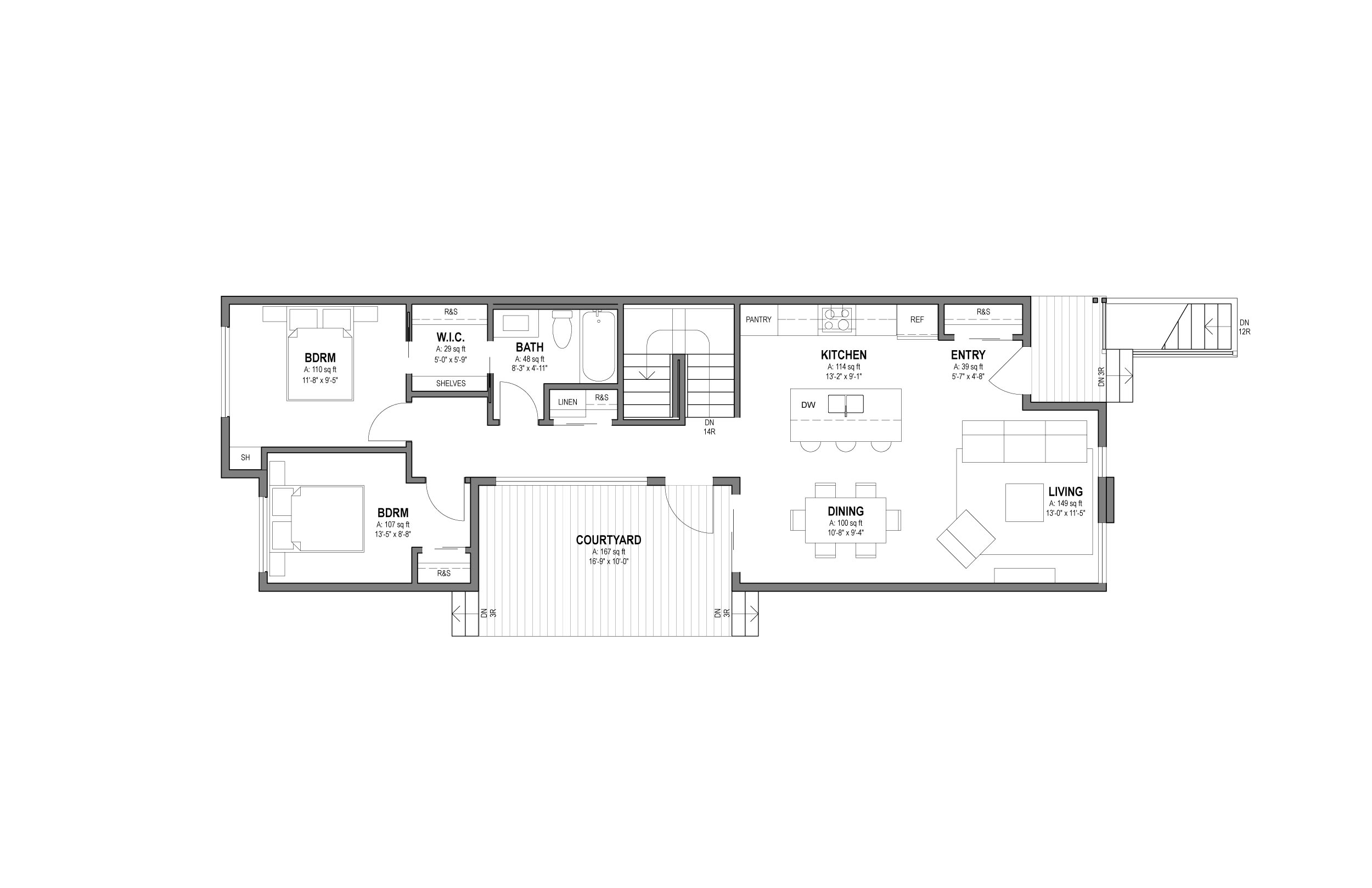 721 AVE I - Main Floor