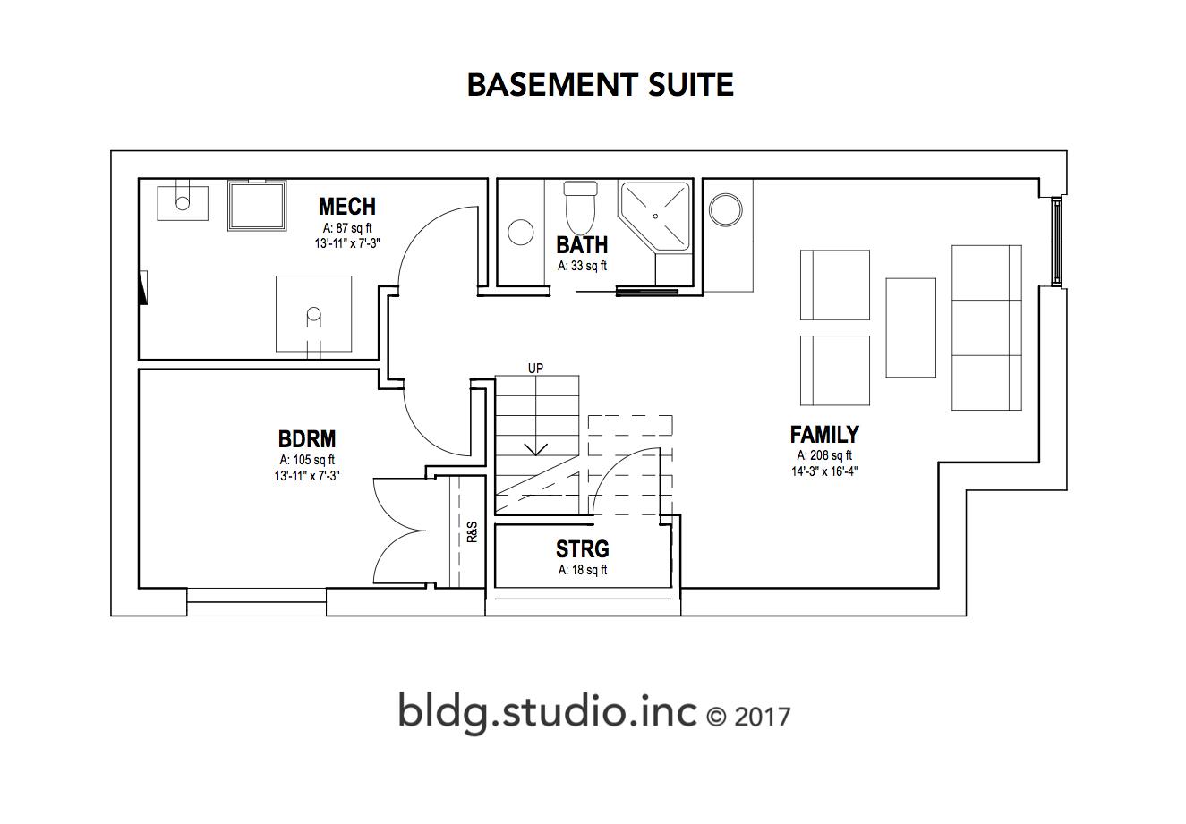 429B 5th Street - Basement